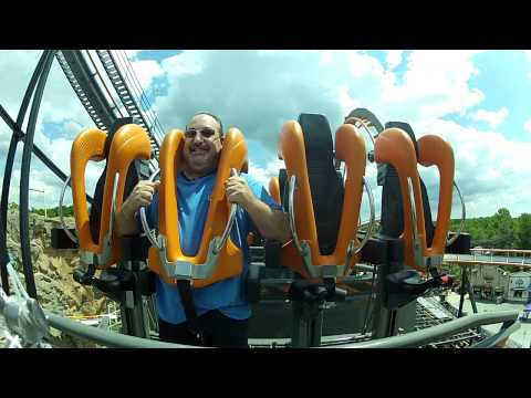 This is the RAW take of the footage of me riding the new coaster at Six Flags America in Maryland. It was Media Day and all Radio and TV stations were there and they picked some of us to get...
