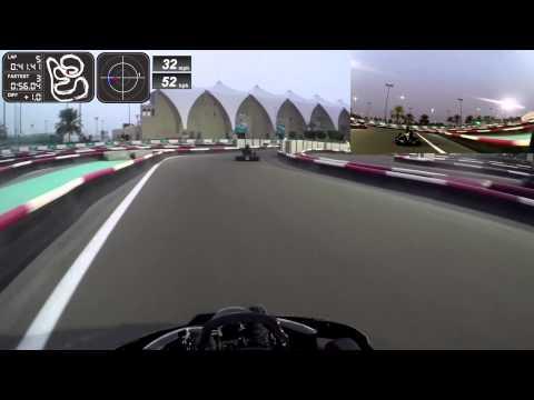 Karting at Yas Marina Kartzone - Abu Dhabi, UAE