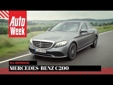 Mercedes-Benz C200 (W205) 2018 - AutoWeek review - English subtitles