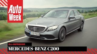 Mercedes-Benz C200 (W205) 2018 - AutoWeek review - English subtitles