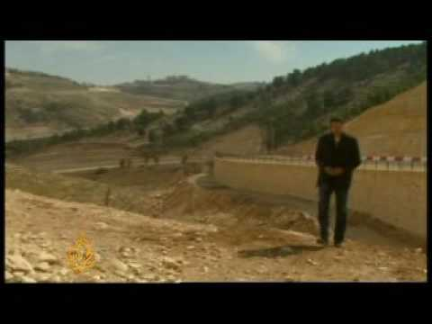 Israeli settlement building threat in West Bank - 26 Mar 09