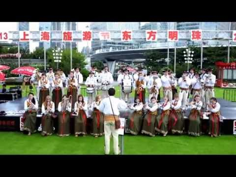 2013 Shanghai Tourism Festival - Poland Folk Brass Band (B)