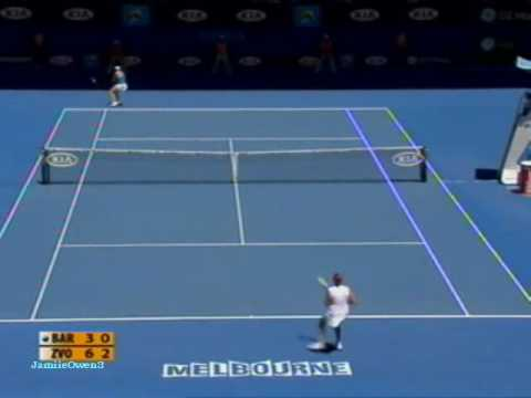 Marion Bartoli vs Vera Zvonareva 2009 AO Highlights