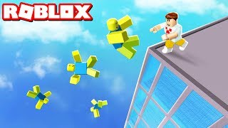 Roblox - JOGUE OS NOOBS DO PREDIO !!!