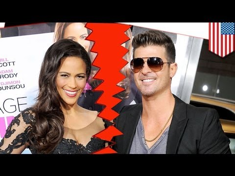 Robin Thicke And Paula Patton Split: Black People Rejoice video