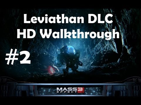 """Leviathan"", full DLC for ""Mass Effect 3"", HD walkthrough (Insanity, Soldier, Paragon), Part 2/2"