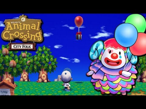 Animal Crossing: City Folk - Clown College