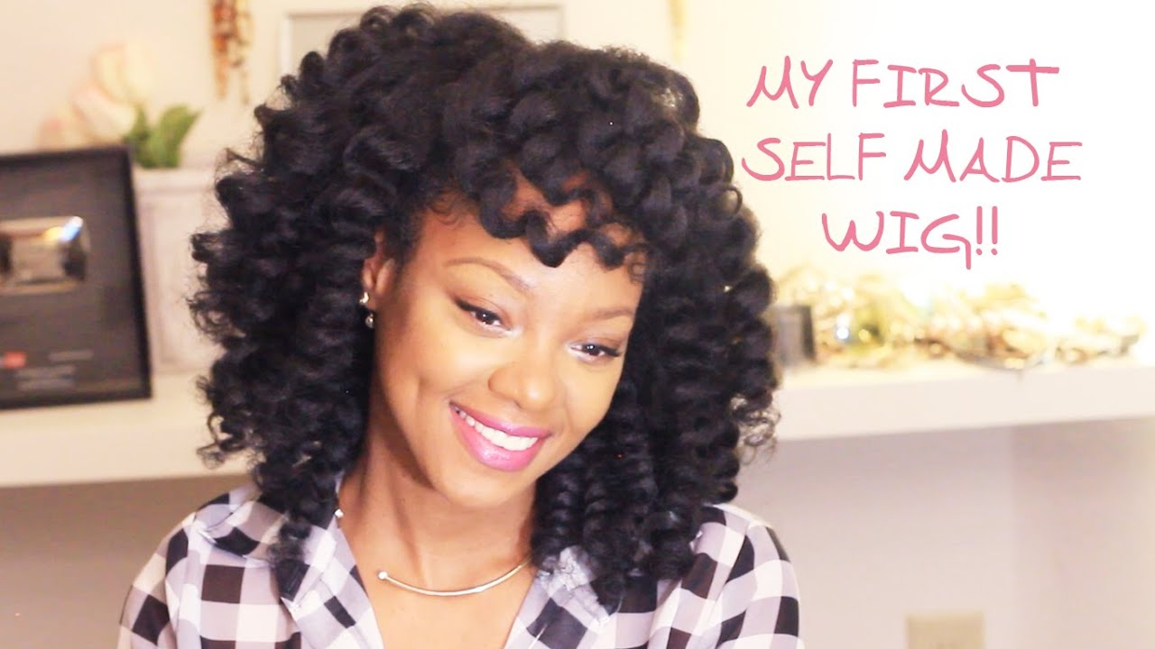 Crochet Braids Wig : More Crochet Braid Options & My First Self Made Wig! - YouTube