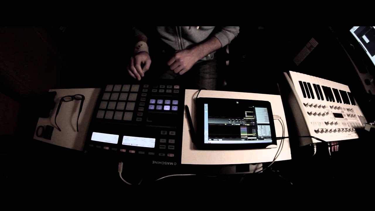 Ni maschine microsoft surface pro demo 2 youtube