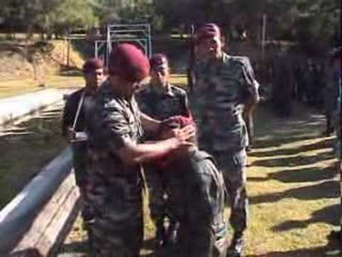 10th PARA BRIGADE - JUMP WING & THE MAROON BERET