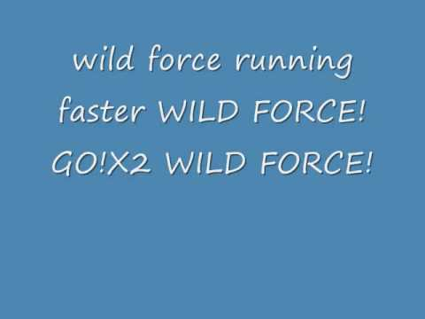 power rangers wild force full with lyrics