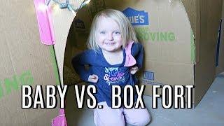 PARKER vs. BOX FORT!