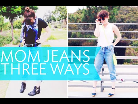 HOW I STYLE - MOM JEANS | Broke But Bougie