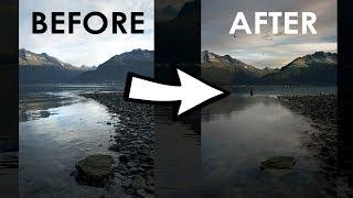 How To Blend Multiple Landscape Exposures in Alaska