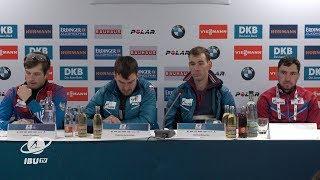 #OBE19 Men's Relay Press Conference