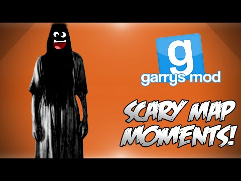 Garrys Mod Scary Map Funny Moments! - Jump Scares Haunted Movie...