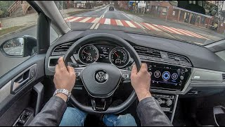 Volkswagen Touran III (2019) | 4K POV Test Drive #188 Joe Black