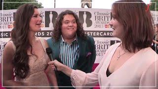 Jonathan & Charlotte Video - Jonathan and Charlotte at the Classic BRIT Awards