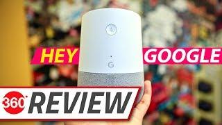 Google Home Smart Speaker Review 🔈 Smartest Speaker You Can Buy?