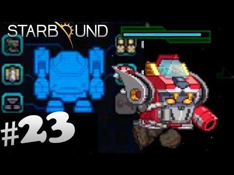 Космический робот! - Starbound #23