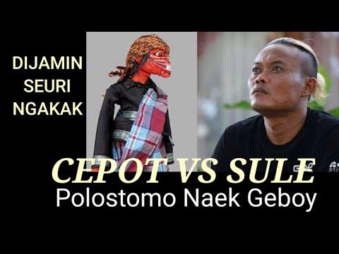 Sule Dan Cepot Adu Polostomo Naek Geboy video