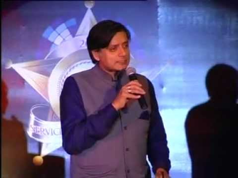 Shashi Tharoor @ Brands Academy Service Excellence Awards