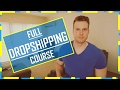 Download Dropshipping CRASH COURSE - Everything EXPLAINED in Mp3, Mp4 and 3GP
