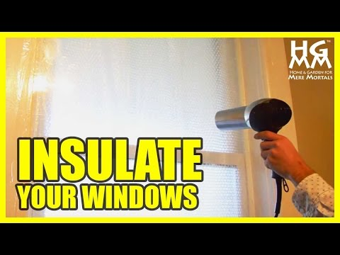 How To Insulate Drafty Windows for Winter - Save Money on Heating