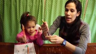 Teach Children How to Hold a Pencil Correctly Tutorial