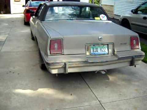 1984 Pontiac Grand Prix le 305
