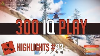 300 IQ Plays! (Rust Highlights #33) | GIVEAWAY
