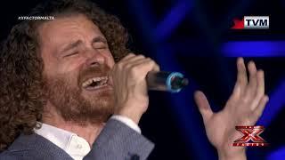 X Factor Malta - The Chair Challenge - Chris Grech