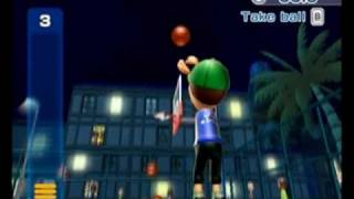 Wii Sports Resort - Basketball 3 Point Contest (49.6 Points)