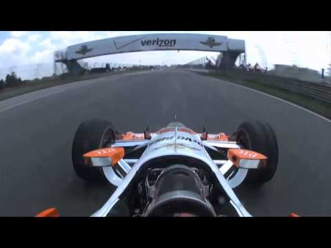 #INDYCAR In-Car Theater: Simon Pagenaud at the Indianapolis Motor Speedway