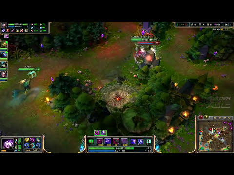 ► LoLPoV - Morgana vs Lux [Mid Promo #2] Ranked Road to Diamond S3 (League of Legends Live)