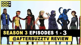 Young Justice Season 3 Episodes 1 - 3 Review & After Show