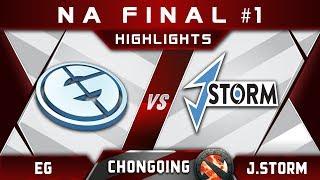 EG vs J.Storm - First NA slot at Chongqing Major 2018 Highlights Dota 2