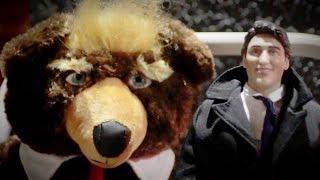 Millennials weigh in on Trumpy Bear vs. Trudeau Doll | David Menzies