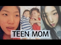 foto KOREAN TEEN MOM - BEING HONEST WITH YOU GUYS  - Day in a Life [Nov 2016]