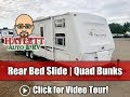 Used 2005 KZ Frontier 2908BH Quad Bunk Rear Bed Slide Travel Trailer