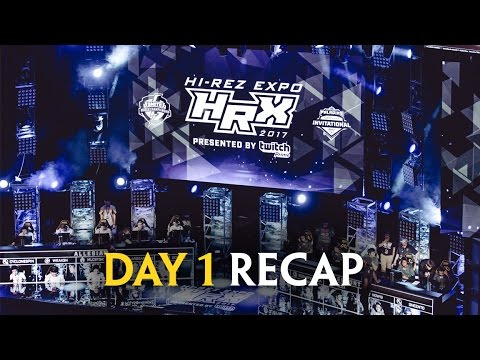 Hi-Rez Expo 2017 - Day 1 Recap (SMITE World Championship)