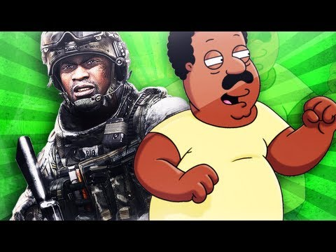 Cleveland Brown Trolling in Black Ops 2