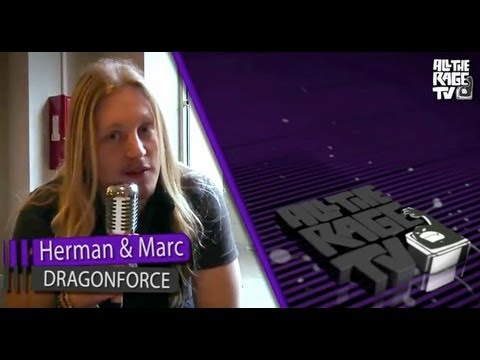 Dragonforce - Marc Hudson&Herman Li Talk About
