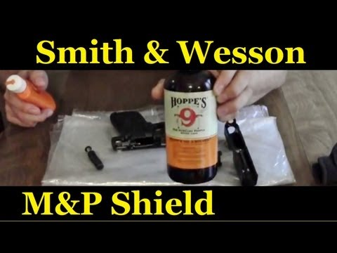 How to clean your smith and wesson M&P 9mm Shield
