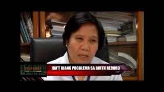 RESPONDE - Kahalagahan ng Birth Record - (April 23) part 2 of 2