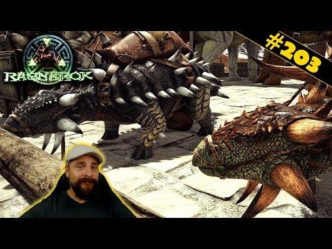 ARK Ragnarok deutsch   #203   Umzug der Tiere & frisch organisieren   gameplay german