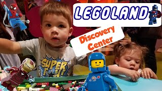 LegoLand Dallas - Playing with the Funnest Building Blocks & Exploring Awesome Lego Exhibits (2018)