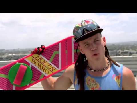 """Ролик к  фильму  """" Назад в будущее 2 """" !  Ховерборд (hoverboard )"""
