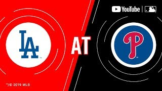 Dodgers at Phillies | MLB Game of the Week Live on YouTube