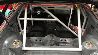 "400 HP RX7 ""street car"" GETS INTERIOR!!!"